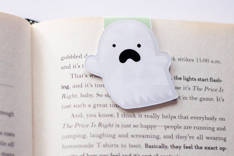 Ghost Magnetic Bookmark (Jumbo)