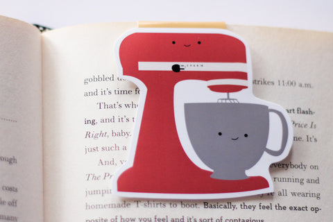 Mixer Magnetic Bookmark (Jumbo)