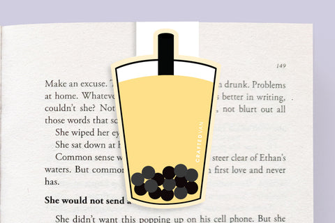 Bubble Tea Magnetic Bookmark (Jumbo)