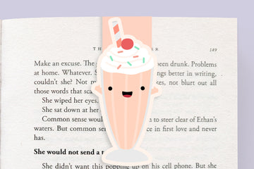 Milkshake Magnetic Bookmark (Jumbo)