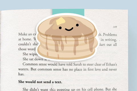 Pancake Magnetic Bookmark (Jumbo)