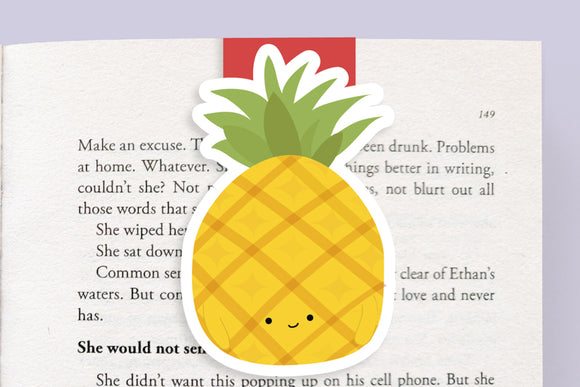 Pineapple Magnetic Bookmark (Jumbo)