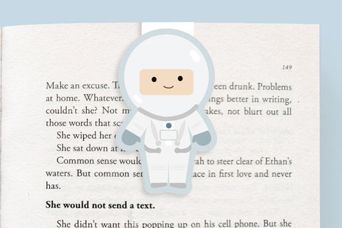 Astronaut Magnetic Bookmark (Jumbo)