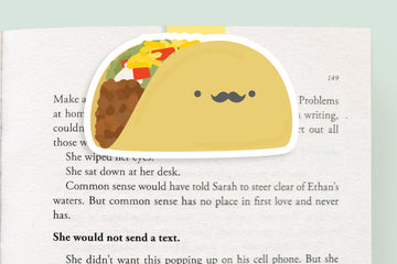 Taco Magnetic Bookmark (Jumbo)