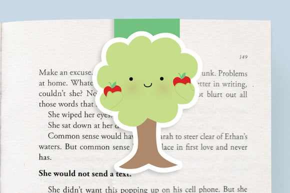 Apple Tree Magnetic Bookmark (Jumbo)
