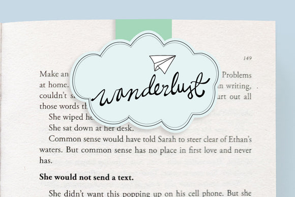 Wanderlust Magnetic Bookmark (Jumbo)