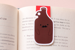 Beer Growler Magnetic Bookmark (Jumbo)