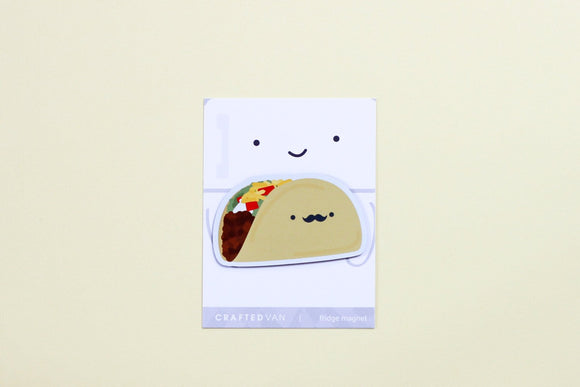 Taco Fridge Magnet