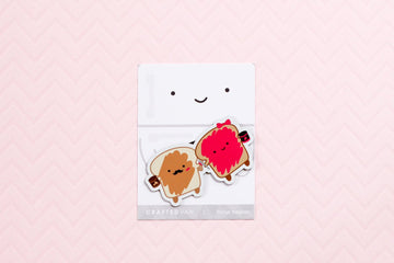 Peanut Butter and Jelly Fridge Magnet