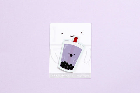 Bubble Tea Fridge Magnet