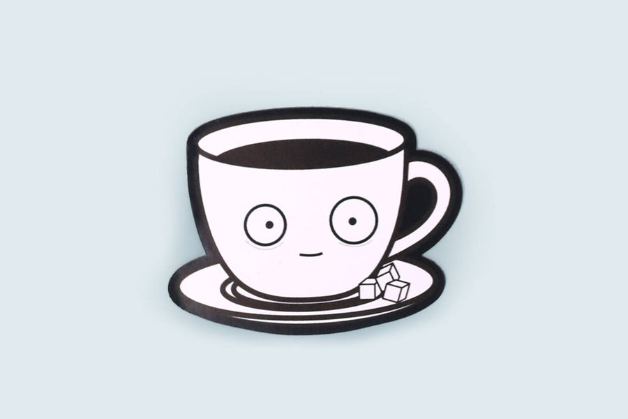 Coffee Addict Fridge Magnet