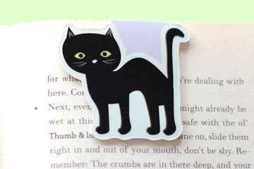 Halloween Cat Magnetic Bookmark (Jumbo)