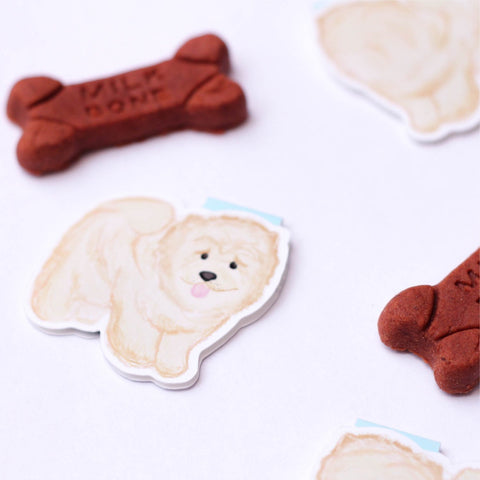 Chow Chow Dog Magnetic Bookmark (Jumbo)