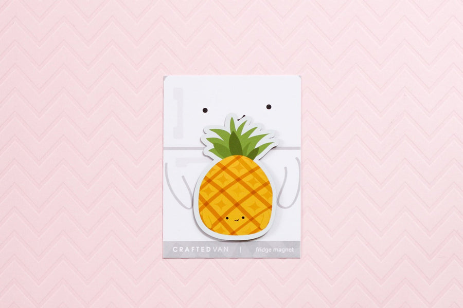 Pineapple Fridge Magnet
