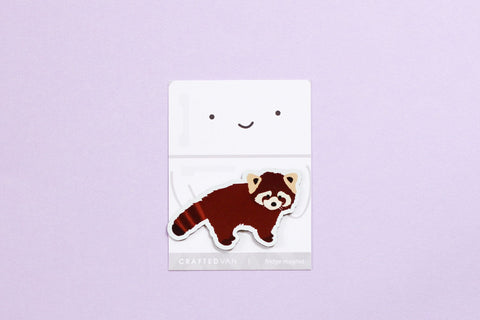Red Panda Fridge Magnet