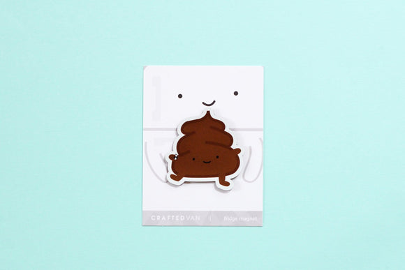 Poop Fridge Magnet