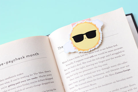 Sun Magnetic Bookmark (Jumbo)