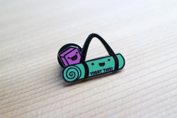 Yoga Enamel Pin
