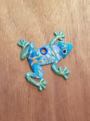 Metallic Frog Skate Lace Charms
