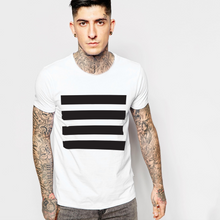 Load image into Gallery viewer, M-Black Lines T-shirt