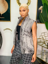 Load image into Gallery viewer, Ciara Denim Vest Jacket