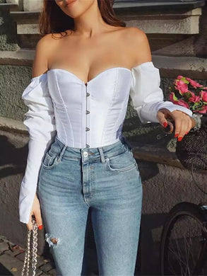 French Romance Bustier Top