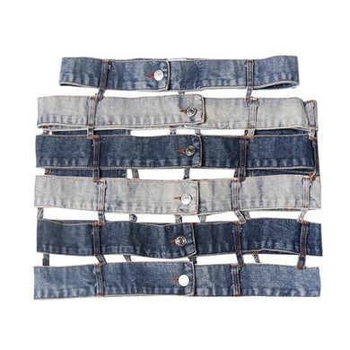 Tierra Irregular Denim Skirt (Limited)
