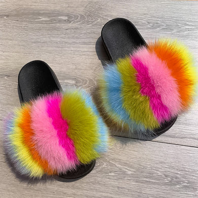 Cotton Candy Luxury Slides