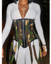 Load image into Gallery viewer, Eden Army Corset