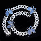 Ice Me Out Butterfly Necklace (4805897617443)