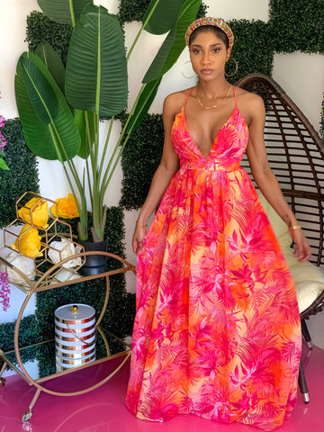 Honolulu Tropical Dress (4604347908131)