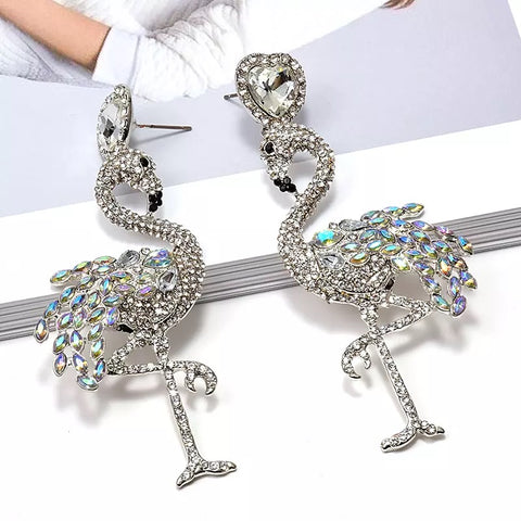 Flamingo Earrings (6549288583203)