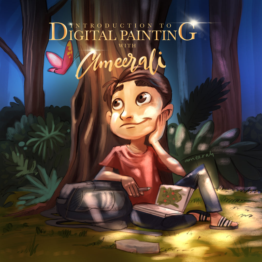 Introduction to Digital Painting with Ameer Ali