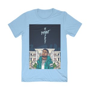 Bryant Myers Art Baby Blue Shirt