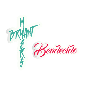 Bryant Myers Bendecido Sticker Pack