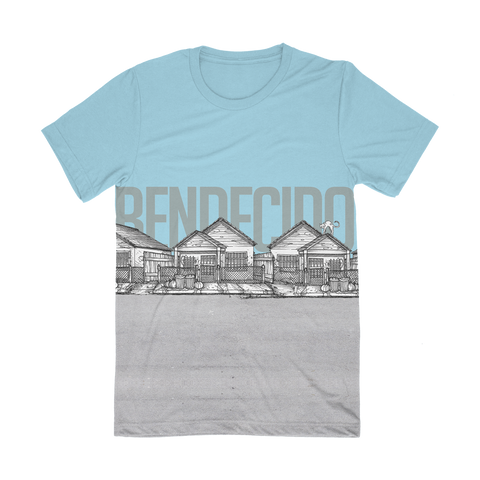 Bendecido Baby Blue Shirt