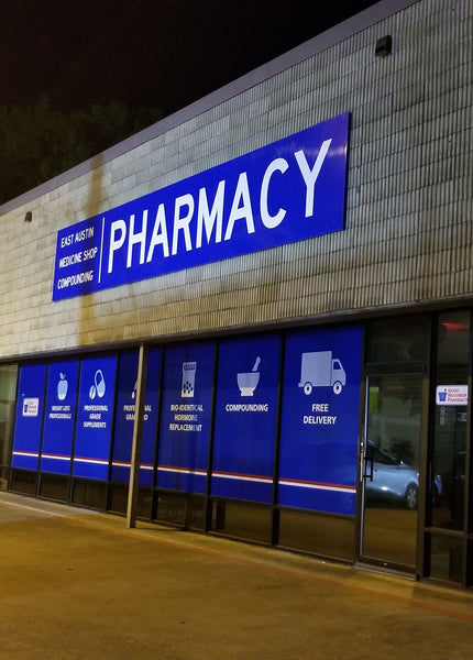 East Austin Medicine Shop Independent Compounding Pharmacy storefront