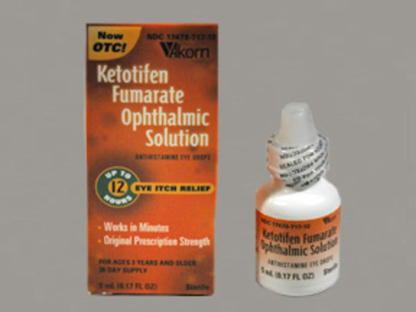 Ketotifen Fumarate Sol 0.025% Drop 5ML (Generic Zatidor)