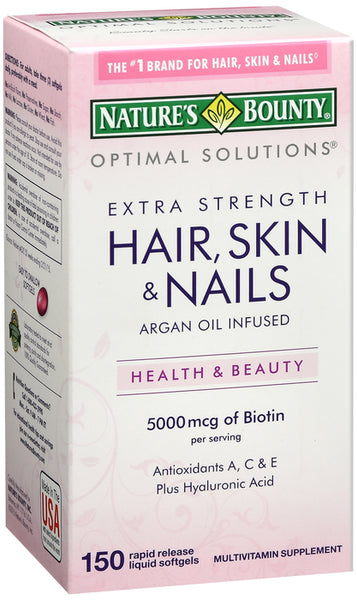 Optimal Solut Hair Skin Nail SFTGEL 150CT