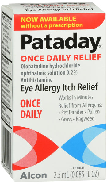 Pataday Once Daily Allergy Relief 2.5ML
