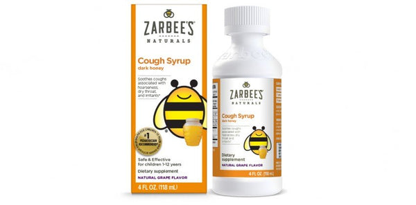 Zarbee's Children's Day Cough Syrup  (4oz)