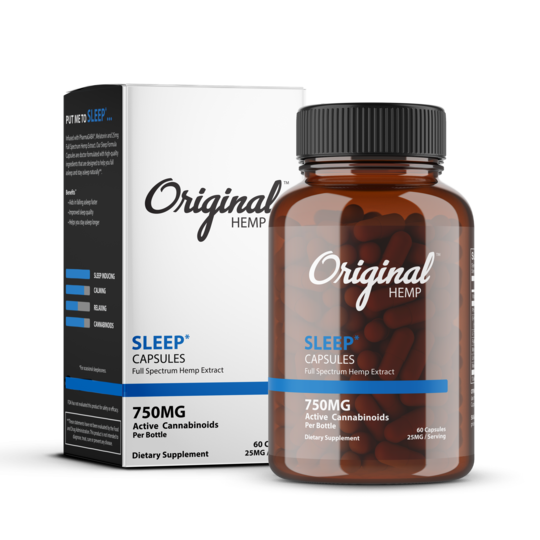 Original Hemp Sleep Capsules