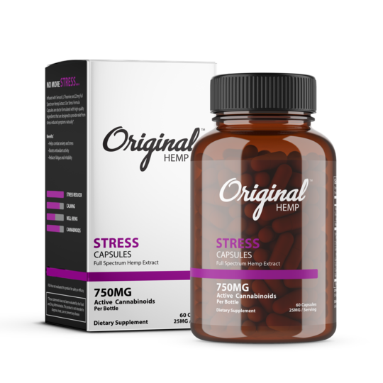 Original Hemp Stress Capsules