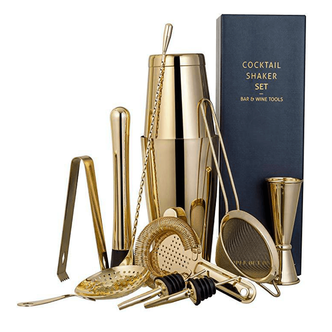 Coffret Cocktail Doré