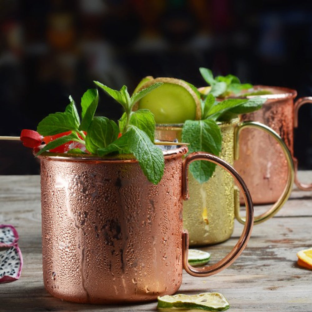 Verre Moscow Mule <br> Cube