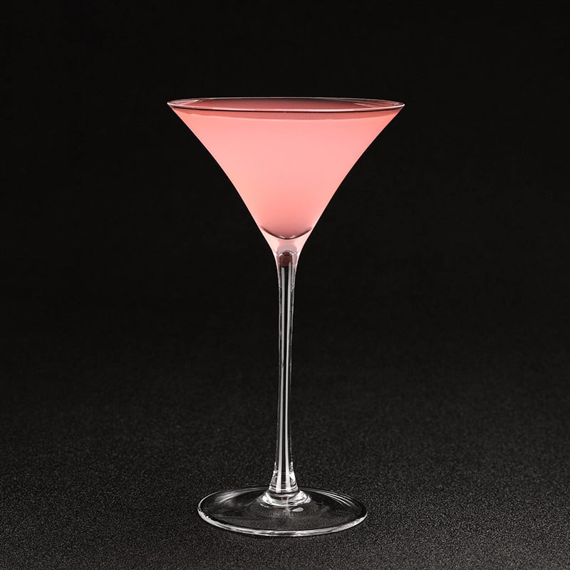 verre martini triangle
