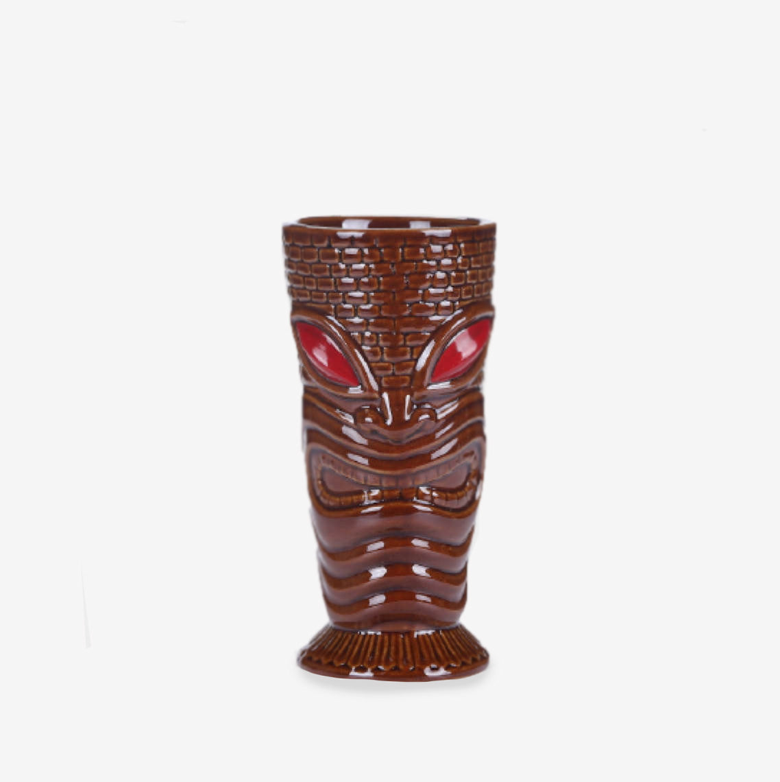 Verre Tiki <br> Yeux Rouges