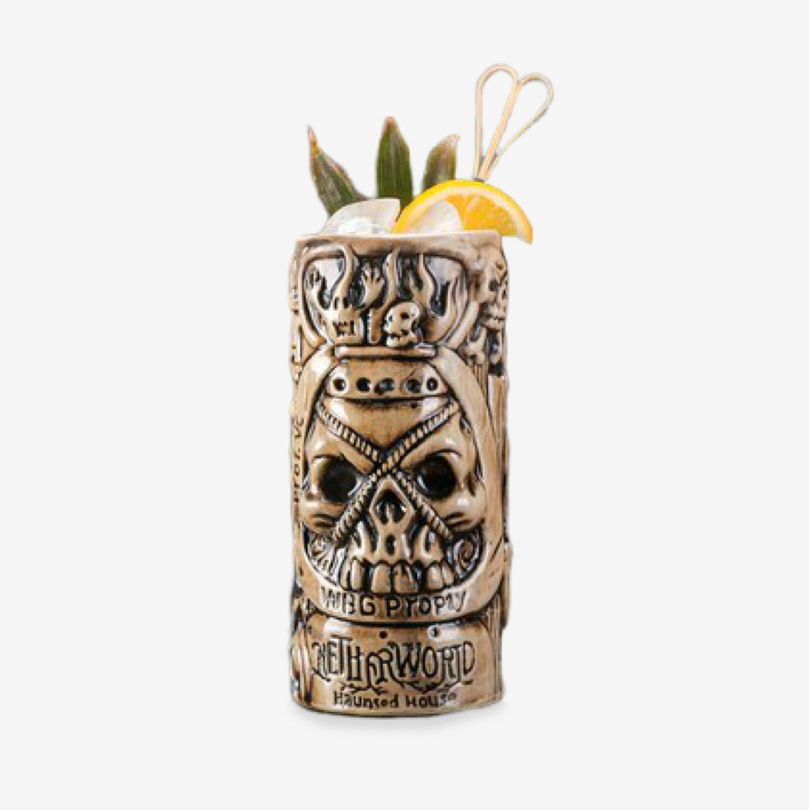 Verre Tiki <br> Pirate
