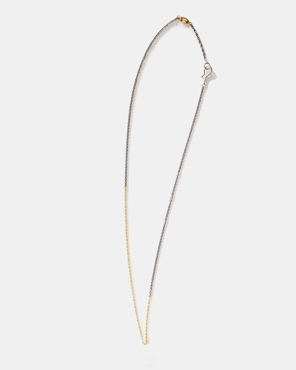 Oxidized Silver and Gold Chain-Ara Collection-Mercantile Portland