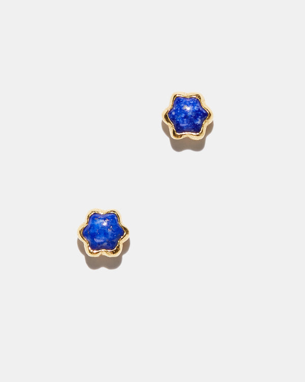 Lapis Star Studs-Ara Collection-Mercantile Portland